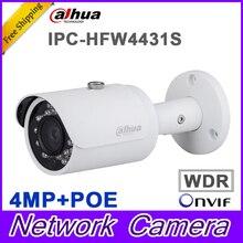 Original Dahua DH-IPC-HFW4431S replace IPC-HFW4421S 4MP Full HD WDR Network Small IR Bullet Camera CCTV POE IPC-HFW4431S