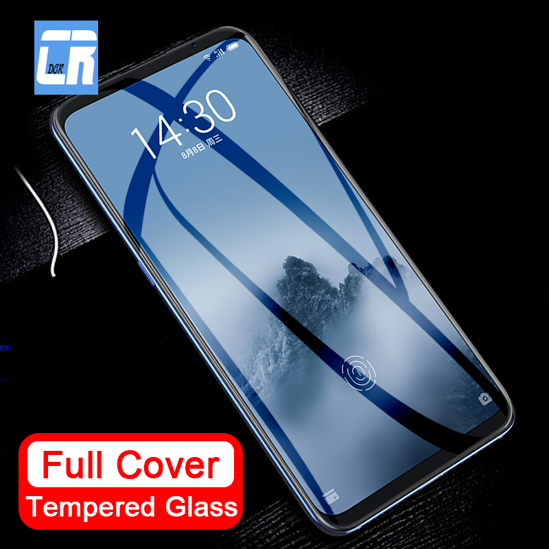 Full Cover Tempered Glass For Meizu U10 U20 MX6 Pro 6 M3s Mini M5s M5 M3 Note 8 9 Screen Protector Protective Film High Quality