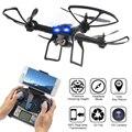 2017 lidirc l5 wifi fpv rc drone quadcopter rtf com câmera hd, um retorno, modo headless,-três níveis de Controle De Velocidade