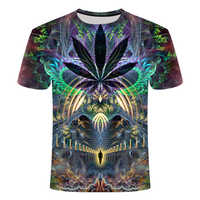2019 New Summer Style Mens T-Shirt Colorful Galaxy Space Psychedelic Floral 3D Print Women/Men T Shirt Hip Hop Casual Tees Tops