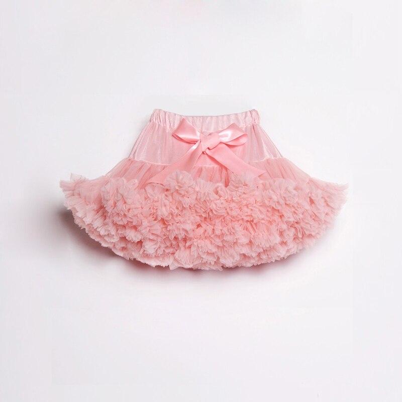 Peach tutu Skirt Kids ruhák lányok chiffon Tutu szoknyák - Gyermekruházat