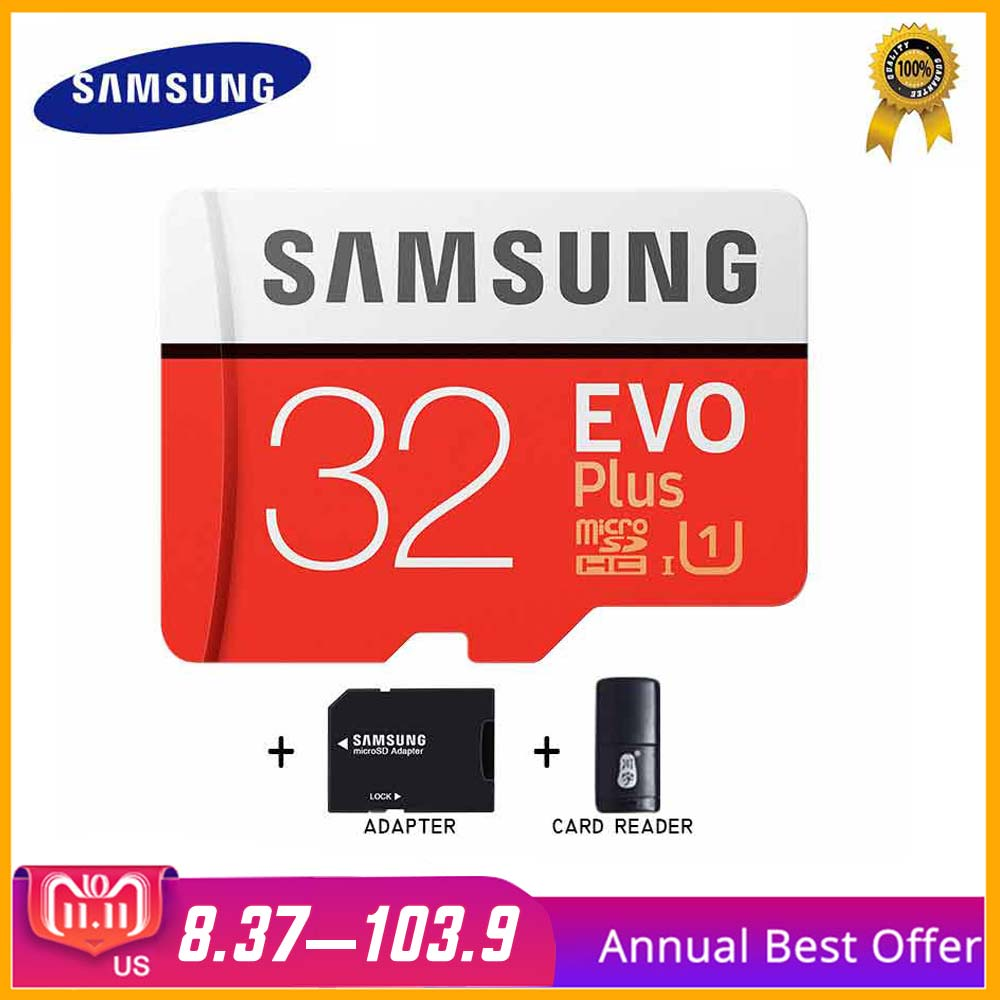 SAMSUNG Micro SD Card 32gb Memory Card Carte Micro sd Tarjeta Micro Sd 64gb 128gb 256gb C10 4KHD TF for Cellphone with SDHCSDXC