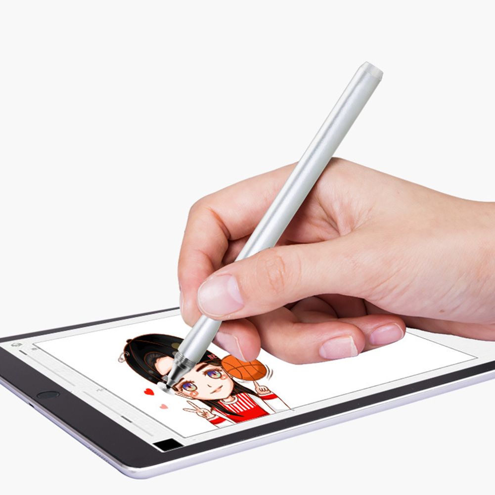 Universal 2-in-1 Capacitive Pen Touch Screen Drawing Stylus For Smartphones New