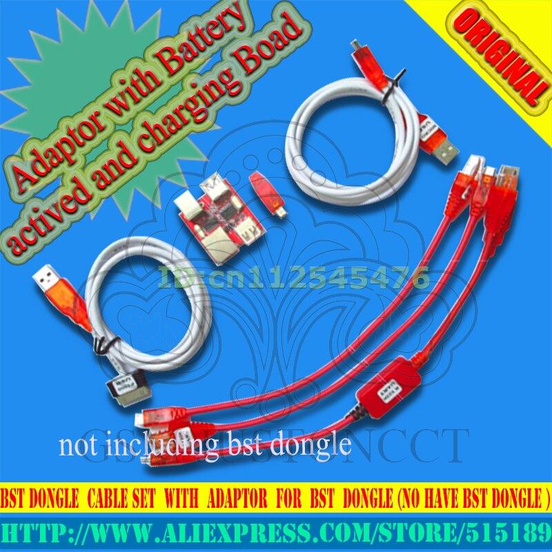 Jeu de câbles à Dongle Bst avec adaptateur pour dongle Bst (pas de dongle bst) + + + + livraison gratuite