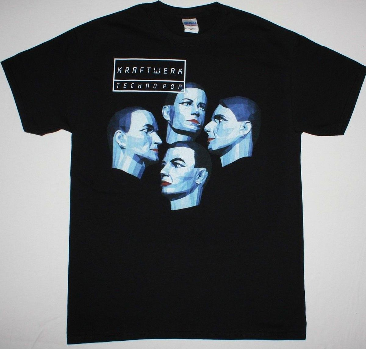 KRAFTWERK TECHNO POP ELECTRIC CAFE ELECTRONIC ORGANISATION NEW BLACK T-SHIRT Stranger Things Design T Shirt 2018 New