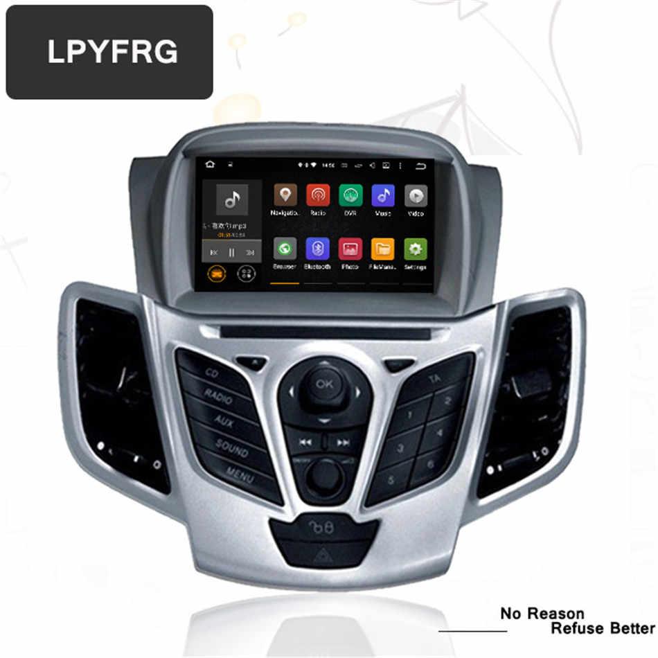 """7 """"Android 9,0 Автомобильный DVD стерео для Fiesta 2008-2013 2014 2015 2016 2017 авто радио gps Навигация Аудио Видео DAB + WiFi головное устройство"""