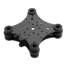 FPV placa antivibración de fibra de carbono y bolas de goma para Dron, para DJI Phantom 1 2 2, cardán, para Gopro 2 3, piezas de Dron