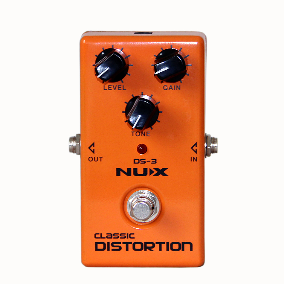 ФОТО NUX DS-3 Classic Distortion Analogue Distortion Effects Perfect for Classic Rock and Heavy Blues