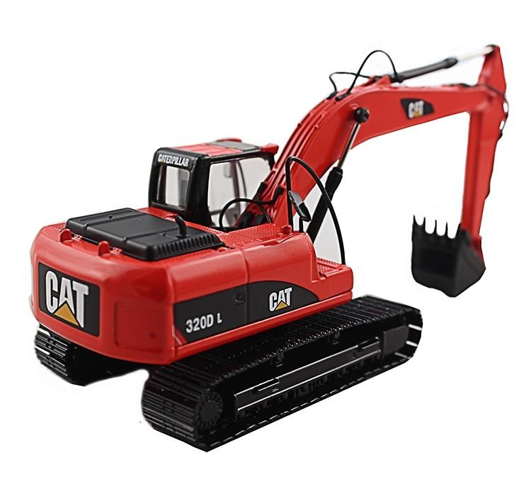 1:50 CAT320D гидравлический экскаватор с красными игрушками
