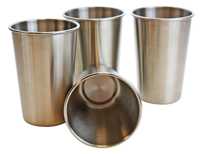 Techome 5 Pcs Stainless Steel Pint Cups Beer Tumblers Coffee Mugs Stackable Whole Dropshipping In From Home Garden On Aliexpress Alibaba