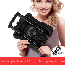 Free shipping Daily use at home small portable car  folding mini trolley car camera bag trolley car shopping cart  luggage cart the sea beauty show three layer of paint with a drawer trolley cart cart jiangsu anhui car hairdressing tool bag mail