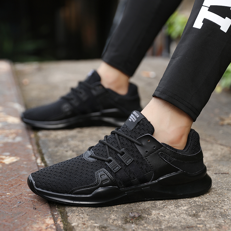 Sollomensi Hot Sale Running Shoes For Men Lace-up Athletic Trainers Zapatillas Sports Male Shoes Outdoor Walking Sneakers 1