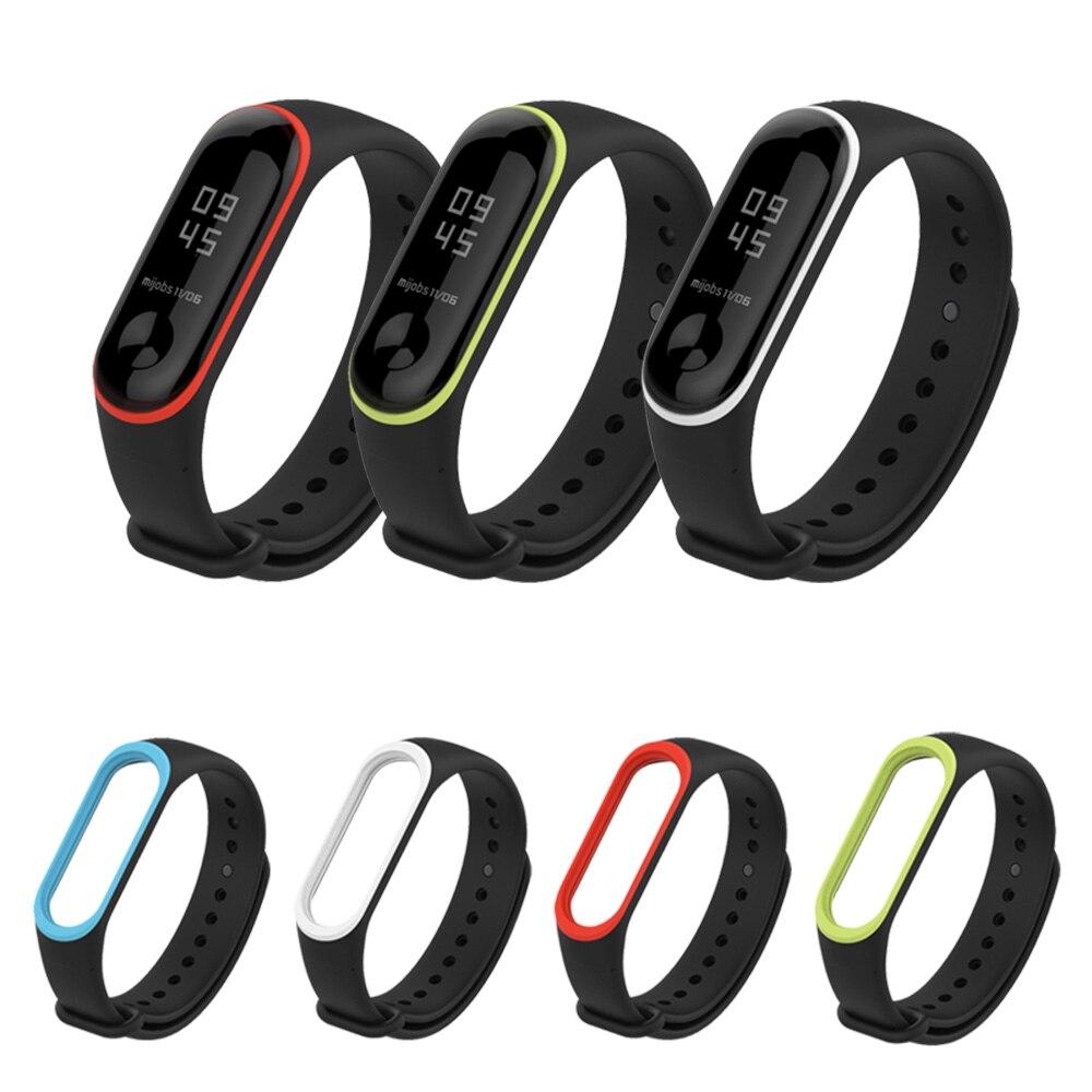 Sport Wrist Strap Wristband For Xiaomi Silicone Wristwatch Strap Wristband Brace
