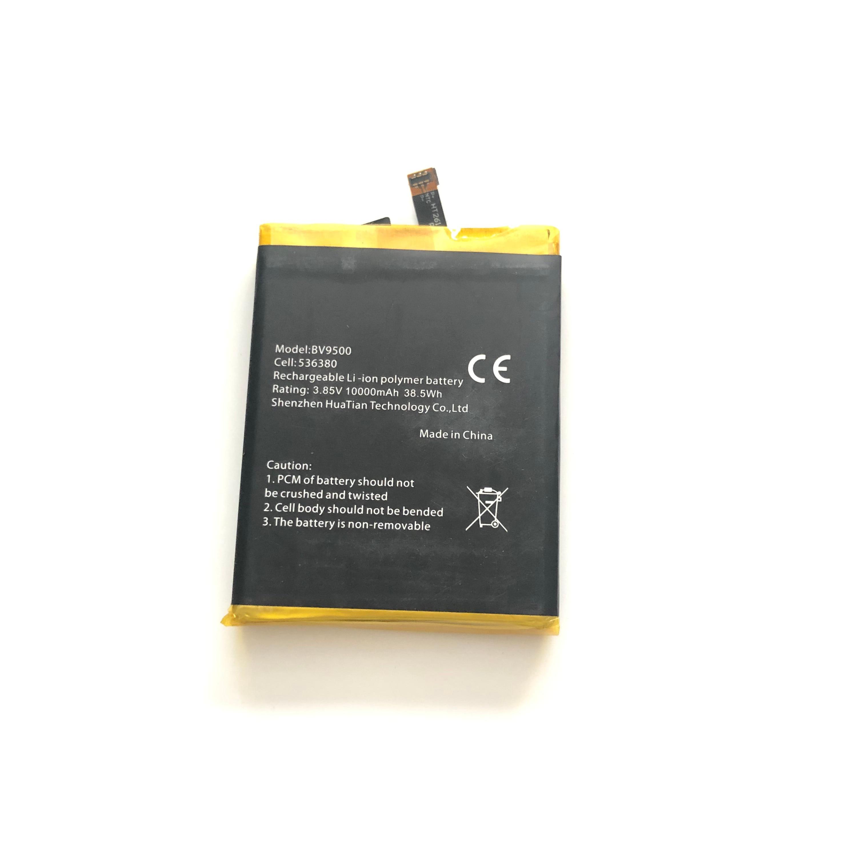 Original New Blackview BV9500 10000mAh Battery Smart Mobile Phone li ion Battery For Blackview BV9500 Pro Smart Phone in Mobile Phone Batteries from Cellphones Telecommunications