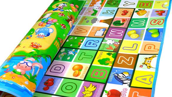 Grosso Do Bebê Tapete Infantil Jogar Rastejando Mat 2*1.8 Metros Fruit Millionaire Jogo da Praia Mat Picnic Tapete 66