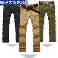 Casual pants autumn and winter plus size casual pants male straight plus size plus size men's casual pants q4