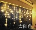 T Criativo Decoração Da Janela Da Lâmpada Luzes Coloridas Da Noite Quente Romântico Doce Para A Festa Do Feriado Do Natal