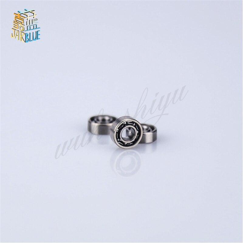 10 piezas MR63 3x6x2mm los rodamientos de bolas de ranura profunda MR63 L630 617/3, 673 3*6*6*2 ABEC-5