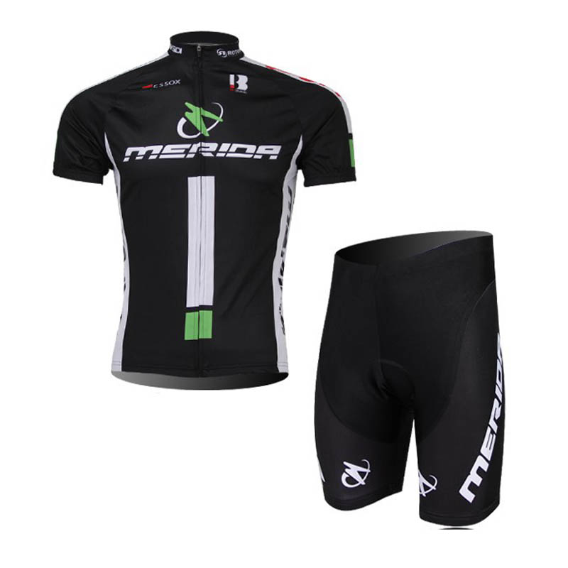 2018 Summer Quick Dry Racing Bike Cycling Clothing Breathable MTB Bicycle Clothes MERIDA Men Cycling Jersey Bike Shorts sets G71 otwzls cycling jersey 2018 set mountain bike clothing quick dry racing mtb bicycle clothes uniform cycling clothing bike kit