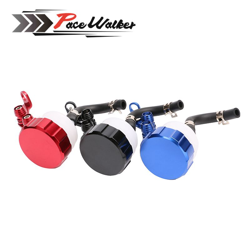 Motorcycle Front Brake Fluid Reservoir Clutch Tank Oil Fluid Cup for Aprilia Ducati Honda Kawasaki Suzuki Triumph Yamaha universal motorcycle brake fluid reservoir clutch tank oil fluid cup for kawasaki z1000 z800 z300 zzr1400 versys 650 er 4n er 6n