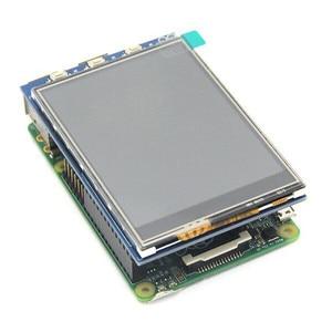 Image 3 - 무료 배송 3.2 인치 TFT LCD 디스플레이 모듈 터치 스크린 라스베리 파이 B + B A + 라즈베리 파이 3