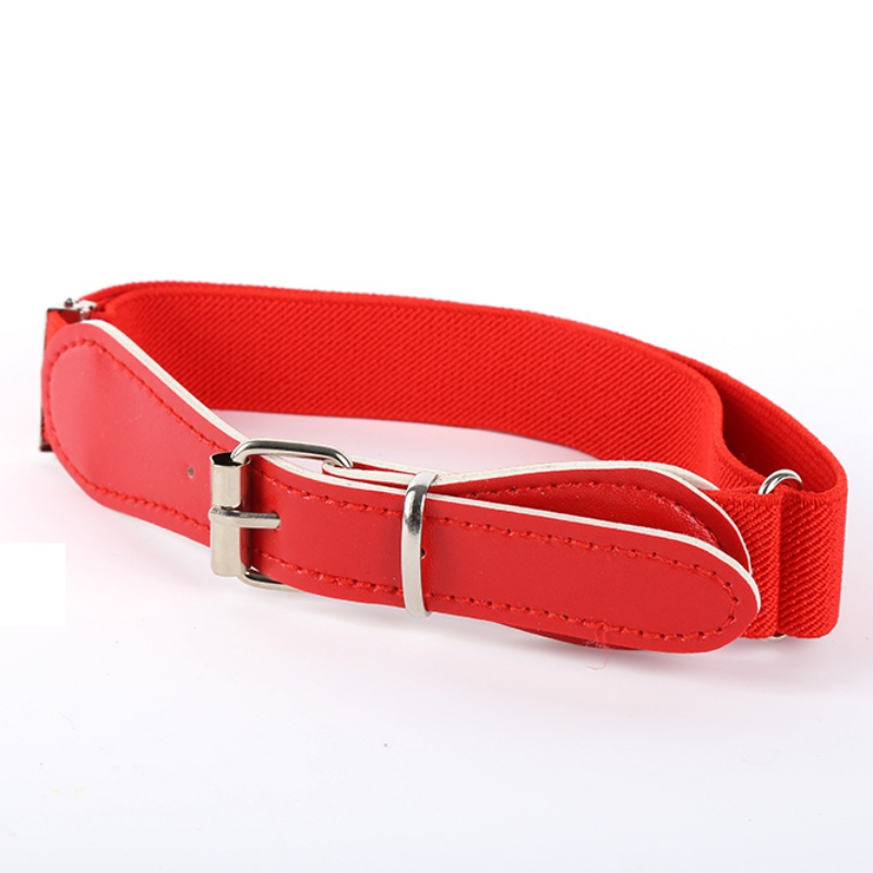 New Women Men Multi-Color Toddler Boy Girl Adjustable Belt PU Leather Casual Infant Waistband