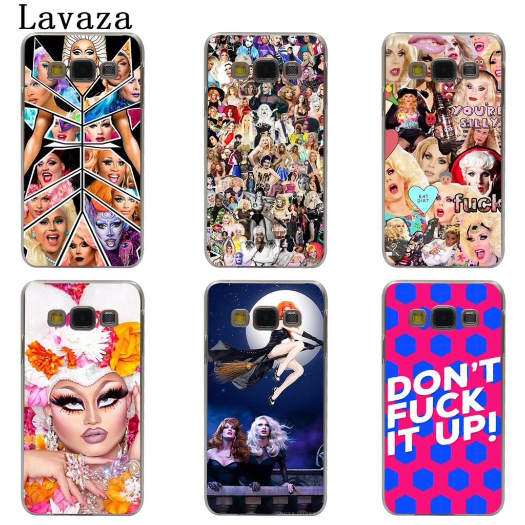 Lavaza RuPauls Drag Race Hard Phone Case for Samsung Galaxy J7 J1 J2 J3 J5 2015 2016 2017 Prime Pro Ace 2018 Cover