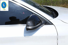 Yimaautotrims Door Side Wing Rearview Mirror Case Cover Trim 2 Piece For BMW 2 Series Gran Active Tourer F45 F46 2015 - 2018 ABS 2 piece 2 2015