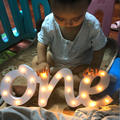 Один декор для вечеринки на день рождения  один номер  светящийся номер  украшение для дня рождения ребенка  столешница  стоячий номер