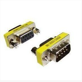 DB9 9-Pin Male to RS-232 Serial Female Gender Changer Coupler Adapter Cable