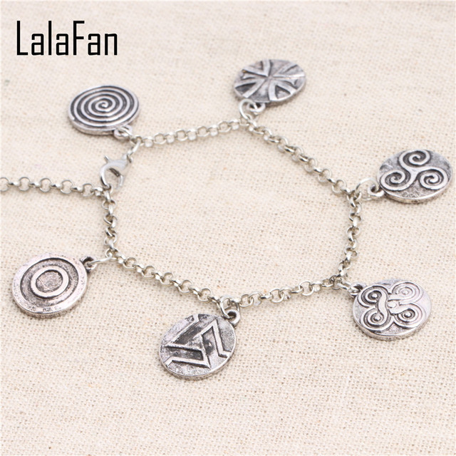 Teen Wolf Symbols Charms Bracelet Sl917 In Bangles From Jewelry