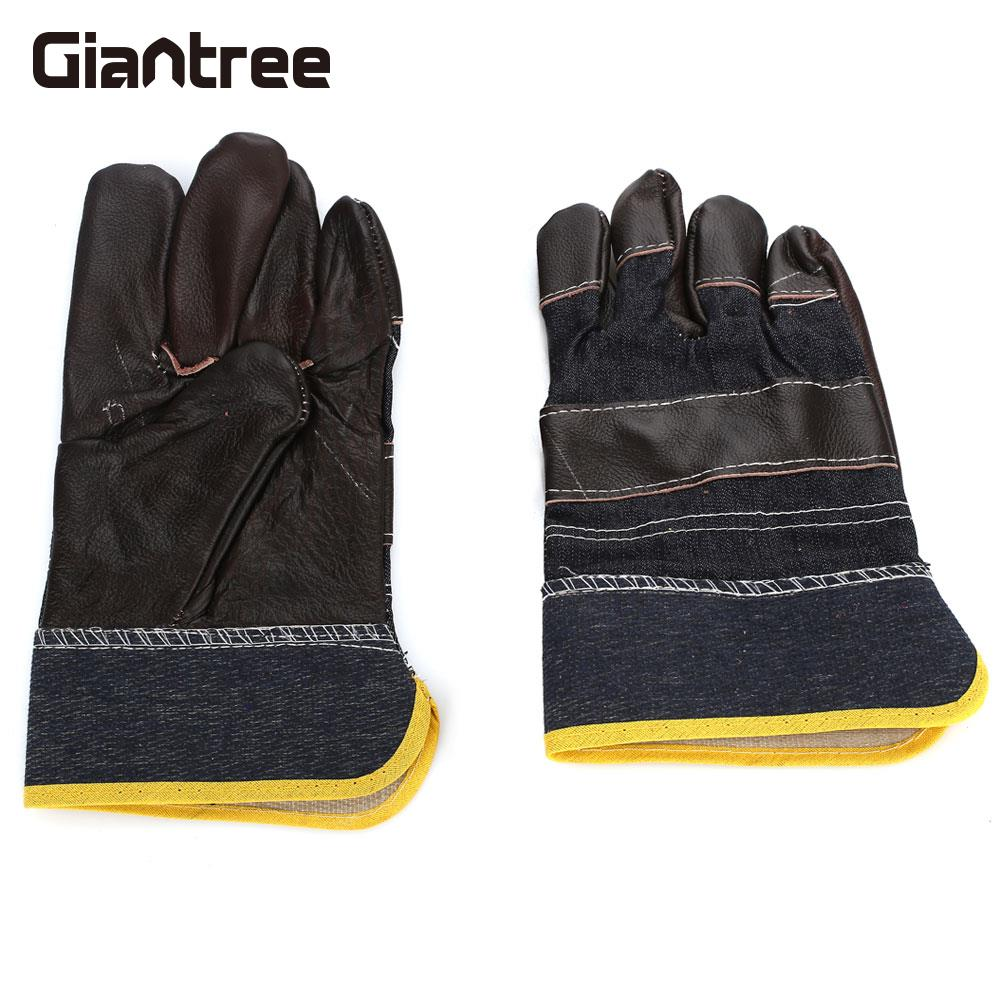 1 Pair work safe gloves Welding Gloves Universal Glass Handling Safety Gloves Hand Protection Labor Gloves gloves northland gloves