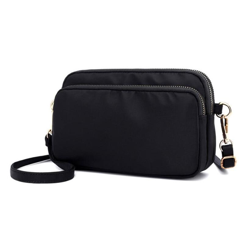 2020 bolso de mano de Nylon para mujer, bolso de mensajero