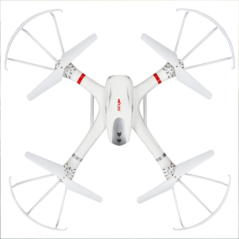 MJX X101 2.4G 3D Roll FPV Wifi RC Quadcopter Drone Helicopter 6-Axis Toy-white in stock mjx bugs 6 brushless c5830 camera 3d roll outdoor toy fpv racing drone black kids toys rtf rc quadcopter
