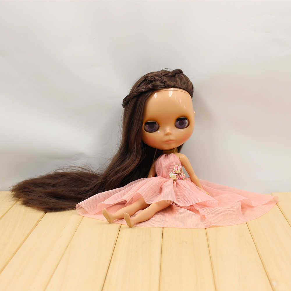Одежда для 1/6 г.; черное розовое платье с цветами; вечерние платья принцессы; N Discotec