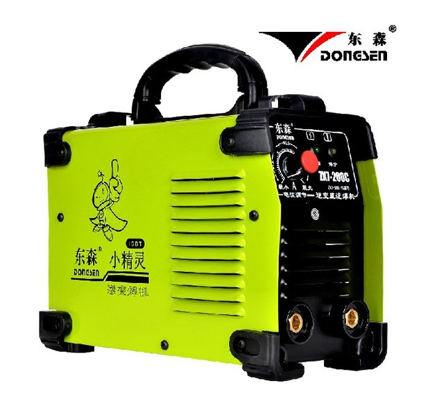Free Shipping Wholesale Popular IGBT DC Inverter welding equipment MMA welding machine ZX7-200C with complete accessories