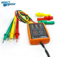 New 3 Phase Sequence Rotation Indicator Tester Dropshipping Phase Indicator Diagnostic tool SM852B