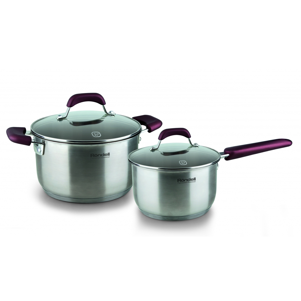 Set of dishes RONDELL RDS-821 (Bucket, pot, cover, stainless steel internal capacity marks, suitable for all kinds of plates) fea of residual stresses in butt welding of two stainless steel plates