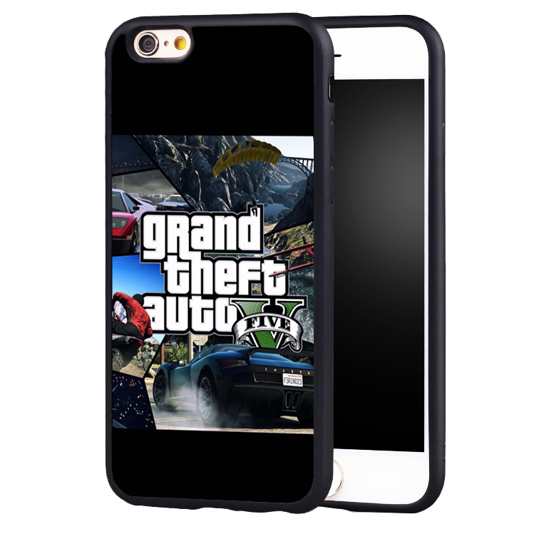 Beautiful GTA grand theft auto 5 V phone case cover for Samsung Galaxy s4 s5 s6 S7 edge S8 plus note 2 3 4 5