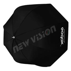Image 5 - Godox paraguas portátil de 120cm/47,2 pulgadas, caja difusora, Reflector para Flash estroboscópico de estudio