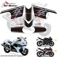 3M Sticker Fairing Stickers For Suzuki GSXR1300 HAYABUSA 2008 2018 2017 2018 2019 Motorbike Racing Fairing Sticker Decal