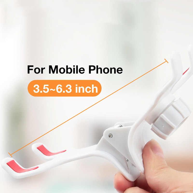 Универсальная настольная кровать длинная рука неподвижная подставка держатель мобильного телефона для iPhone samsung HSJ-19