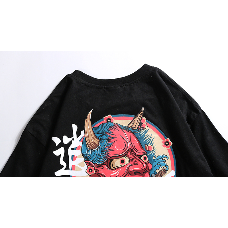 Casual Japan Streetwear Urban Style T-Shirts 5