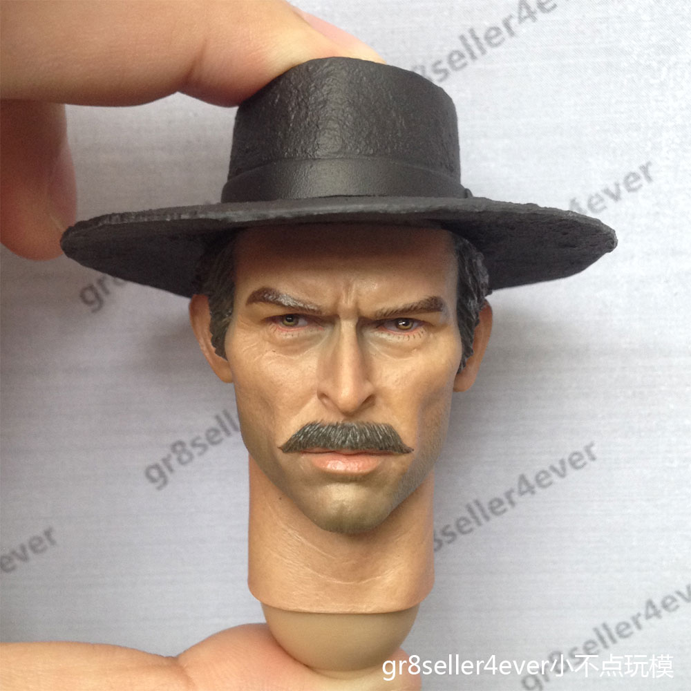 1/6 Head Sculpt Lee Van Cleef The Bad HEADPLAY The Good, the Bad ...