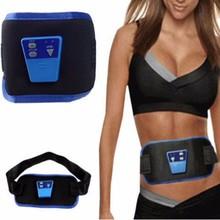 Multi-functional slim body with AB gymnic electronic belt waist belt pulsating massage slimming belt Free shipping