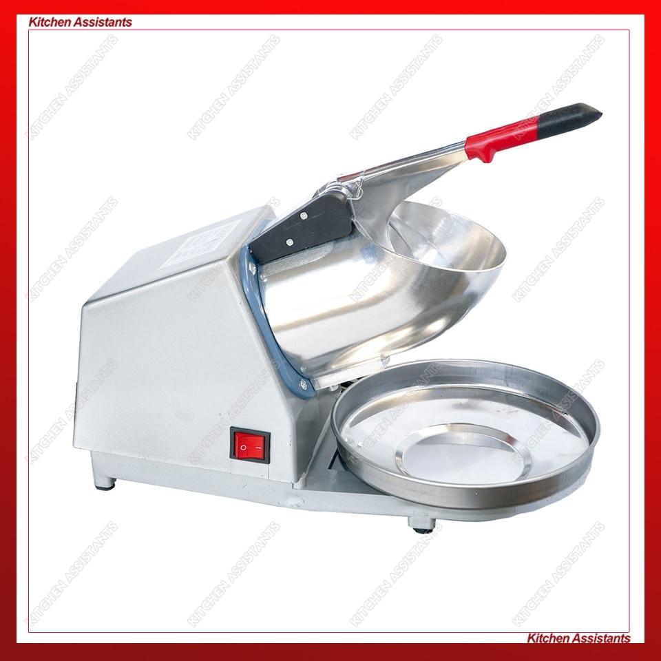HD109 Bar Mini Ice Shaver Ice Crusher Machine Electric Free Shipping