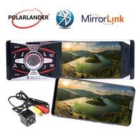 +Camera Mirror Link MP3/MP5/FM In Dash Stereo Head Unit 4.1TFT HD Car Radio 1Din Rearview 12V USB SD AUX