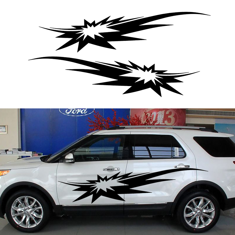 2 X Bomb Exploded Very Shocking In The Smoke Filled Car Sticker Funny Art for RV Mobile Caravan RV SUV Kayak Vinyl Decal bimast bomb premium купить челябинск