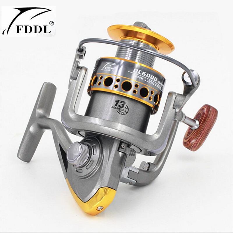 100% Origina FDDL Merk 13 as 1000-7000 serie Volmetalen Spinning - Visvangst
