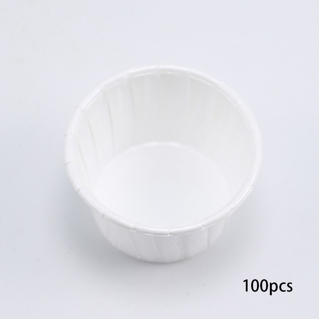 Hair Removal Cream Audacious 100pcs/set Disposable Paper Cup For Hair Removal Bean Depilatory Hard Wax Measuring Cup Holder